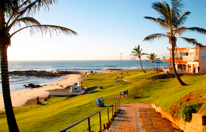 Scottburgh beach on the south coast