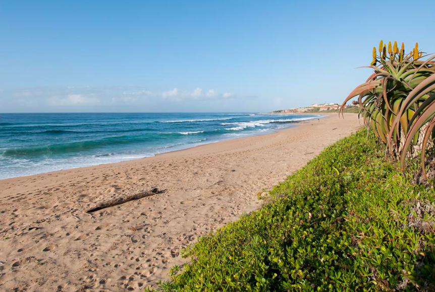 Sandy beach on the south coast