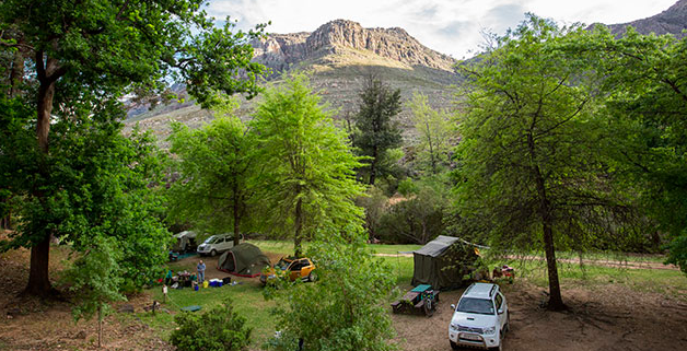 camping in western cape
