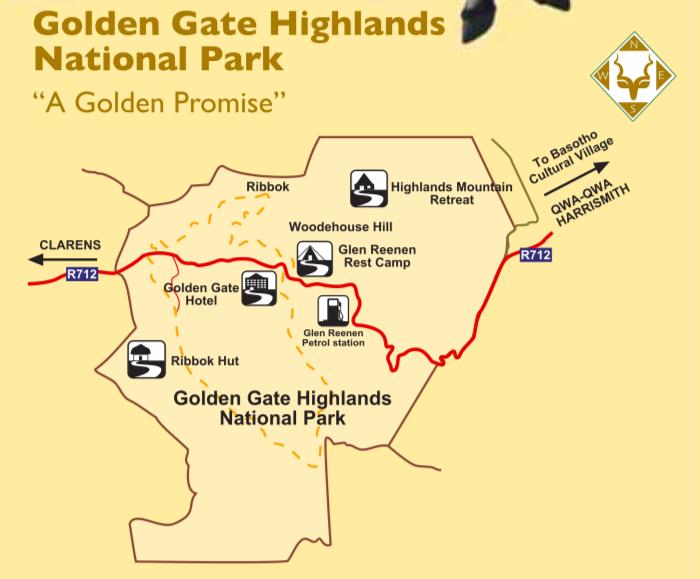 golden gate Map