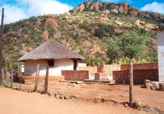 A thatched hut in Limpopo