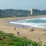 Umtentweni beach on the south coast