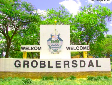 The town of Groblersdal in Limpopo