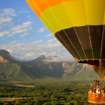 Hot air balloon ride over Hoedspruit
