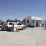 A filling station in Rakops