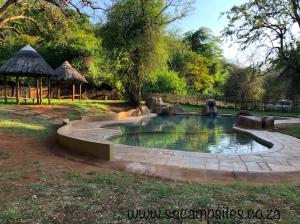swimming pool at punda maria campsite