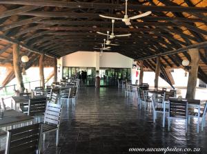 Shingwedzi campsite with pool & restaurant area