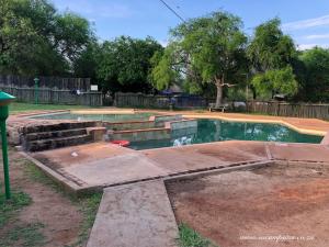 swimming pool at Skukuza