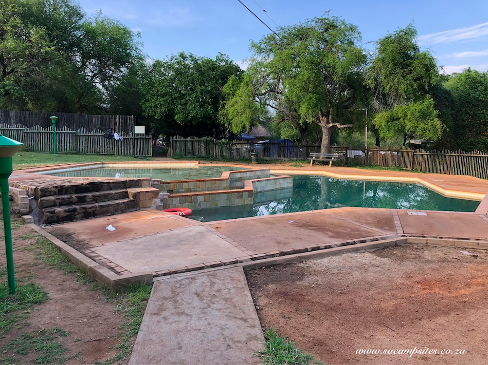 swimming pool at Skukuza