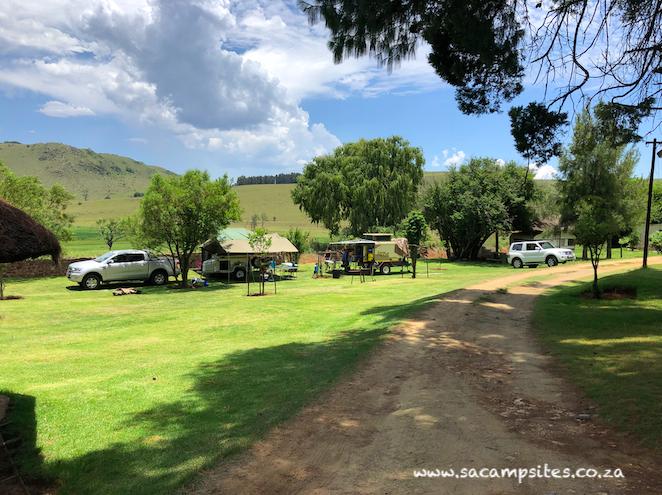 Elandskloof Trout Farm campsites