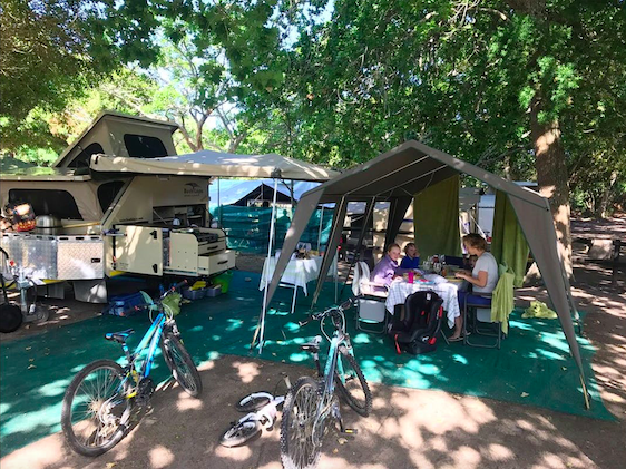 Woodbourne campsites