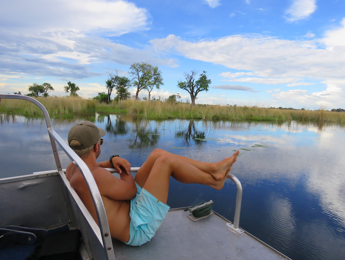 Campsites in Chobe