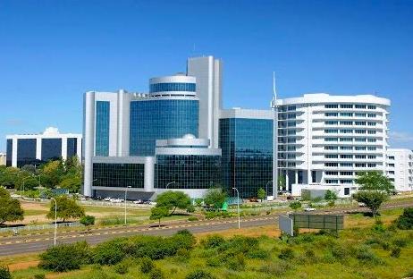 Gaborone the capital city of Botswana