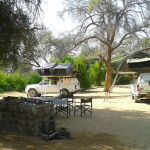 Brandberg White Lady Lodge campsites