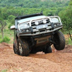 4x4 camp sites and routes in Gauteng