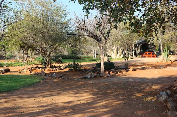 Ijaba Lodge at Buschfeld Park campsites