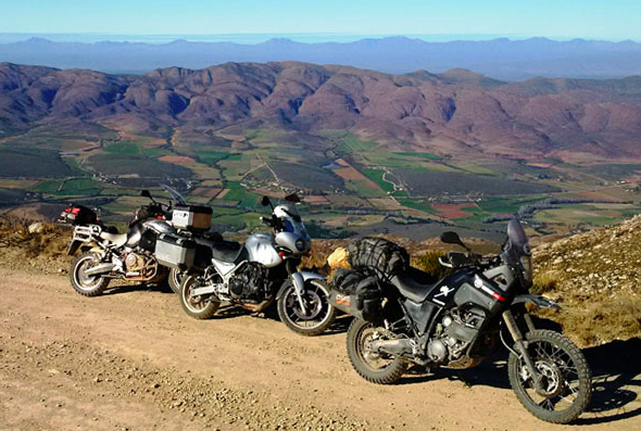 Motorbike friendly campsites in Eastern Cape