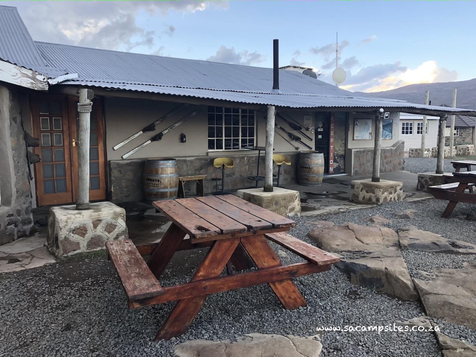 Camping at Sani Mountain Lodge