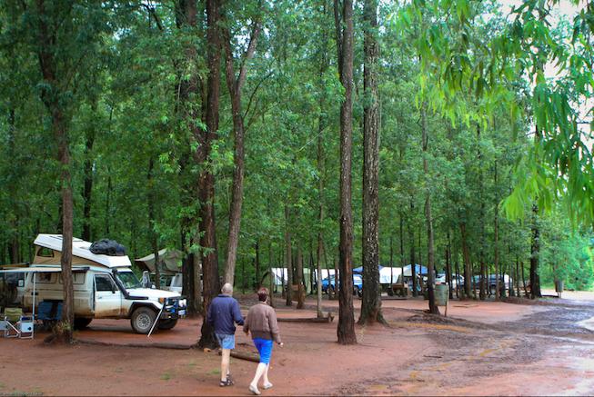 Mlilwane Wildlife Sanctuary campsites
